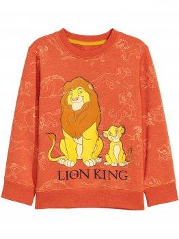 Свитшот король лев H&M 0577884 Оранжевый