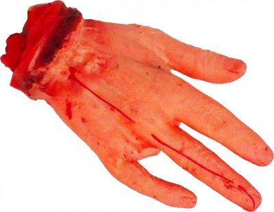Рука Seta Decor С Отрубленным Пальцем 16-142 Красная (2000043690013)