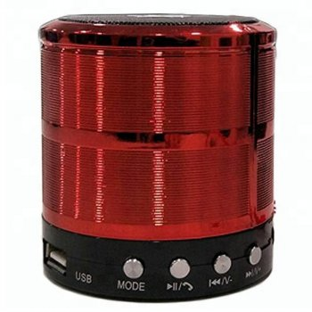 Портативна Bluetooth колонка Wester WS-887 Red (2_002594)