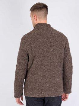 Шерстяная куртка AD HOC 10323686-011 Коричневый