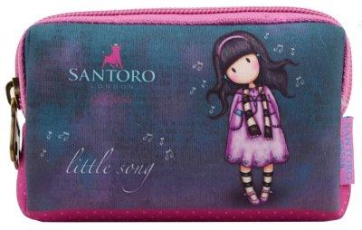 Кошелек Yes Santoro Little Song W-01 неопреновый без наполнения (532708) (5056137190973)