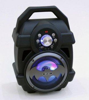 Акустическая система бумбокс Bluetooth HY-01 колонка бумбокс Boombox Бэтмен (0551BB)