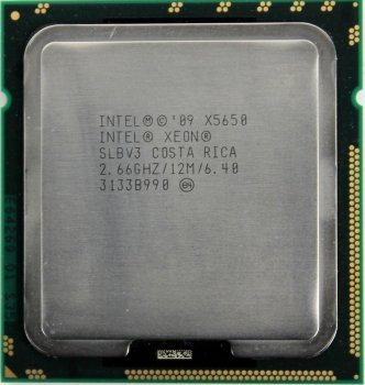 Процесор Intel Xeon X5650 2.66 GHz/12MB/6.40 GT/s (SLBV3) s1366, tray