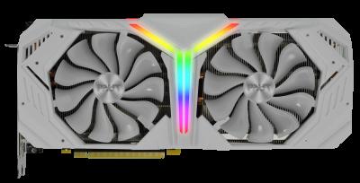 Palit PCI-Ex GeForce RTX 2080 Super White GameRock 8GB GDDR6 (256bit) (1650/15500) (HDMI, 3 x DisplayPort, USB Type-C) (NE6208ST20P2-1040W)