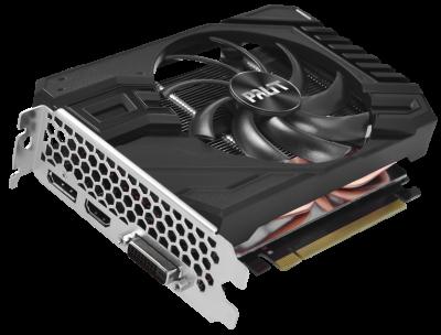 Palit PCI-Ex GeForce RTX 2060 StormX OC 6GB GDDR6 (192bit) (1365/14000) (DVI-D, HDMI, DisplayPort) (NE62060S18J9-161F)