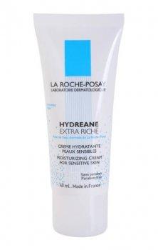 La Roche-Posay Hydreane Riche високоефективний зволожуючий крем для дуже чутливої сухої шкіри (40 мл)