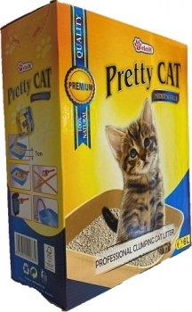 Наполнитель для кошачьего туалета Pretty Cat Premium Gold без аромата Бентонитовый комкующий 5 кг (6 л) (5948311200830)