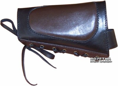 Патронташ кожаный Медан на приклад 12 к 6 патр. (2003)