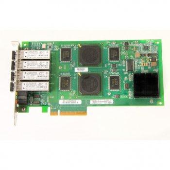 Контролер HP 4GB QUAD PORT FIBRE PCI-E HBA (QLE2464-HP) Refurbished