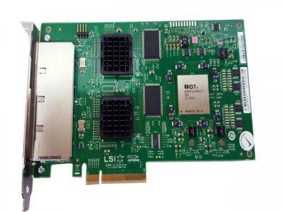 Контролер LSI 16 PORT PCI-E 3GB/S SAS/SATA HBA (L3-01143-03D) Refurbished