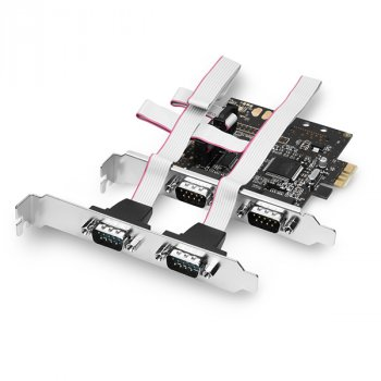 Контролер Axagon AXAGON PCI-Express Adapter 4x Serial Port (PCEA-S4) Refurbished