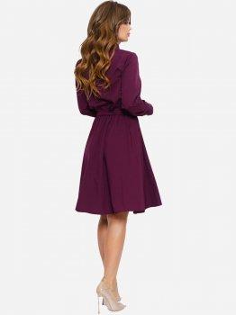 Платье ISSA PLUS 11038 Бордовое