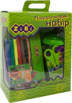 Набор подарочный ZiBi на 13 предметов Cалатовый для творческих занятий ребенка