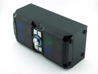 Колонка-чемодан NNS NS-1503bt 10W с караоке и микрофоном чёрная