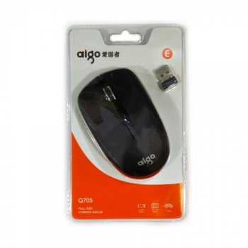 Миша бездротова Aigo Q702 Wireless Black