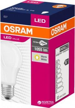Лампа LED Osram CL A Value 75 10.5 W/827 220-240V FR E27 (CZ27H0039)