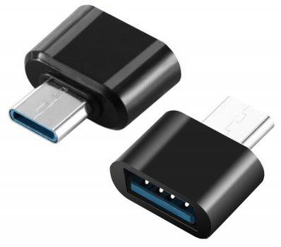 Адаптер до кабелю XOKO AC-040 USB — Type-C чорний