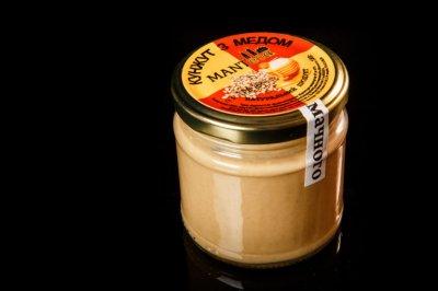 "Кунжутна паста ""Manteca"" з медом 180г (18010)"