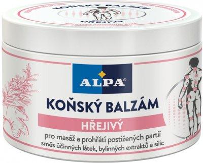 Конский бальзам Alpa Согревающий для массажа тела 250 мл (8594001779215)