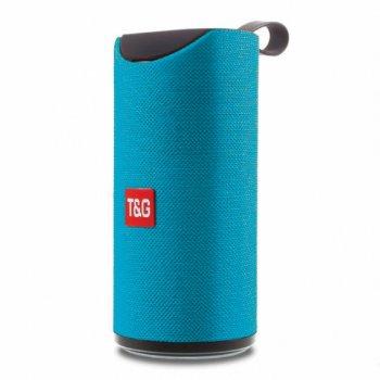 Портативна bluetooth колонка вологостійка TG-113 Синя