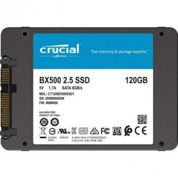 """Накопичувач SSD 2.5"""""""" 120GB MICRON (CT120BX500SSD1)"""