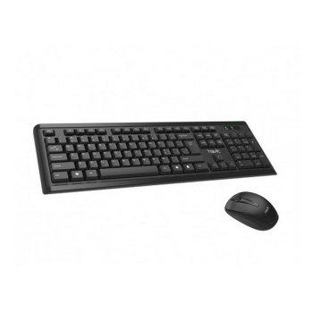 Клавиатура плюс мышь беспроводной комплект HAVIT HV-KB653GCM USB black (24401)