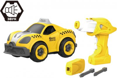 Таксі Hulna на радіокеруванні 22 деталі конструктор (LM8071-YZ-1)