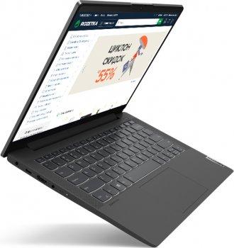 Ноутбук Lenovo IdeaPad 5 14IIL05 (81YH00P3RA) Graphite Grey