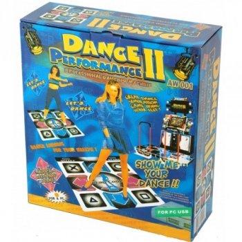 Танцювальний килимок Dance Performance II з підключенням до ПК