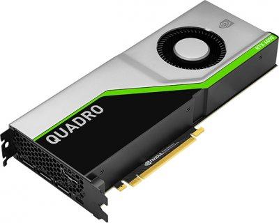 PNY PCI-Ex NVIDIA Quadro RTX6000 24GB GDDR6 (4 x DisplayPort, 1 x VirtualLink) (XVCQRTX6000-PB)