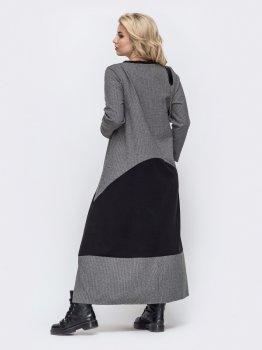 Плаття Dressa 50983 Сіре
