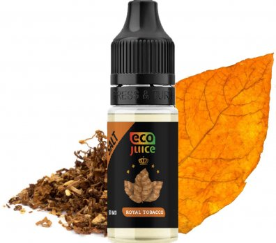 Рідина для POD систем Eco Juice Salt Royal Tobacco 50 мг 10 мл (Тютюн) (EJS-RT-50-10)