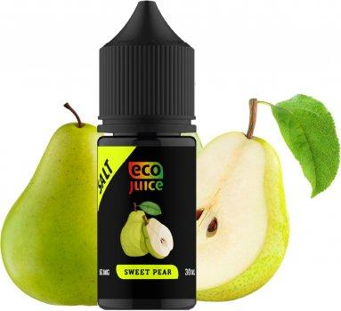 Рідина для електронних сигарет Eco Juice Salt Sweet Pear 30 мл (Груша) (EJS-SWP-30)