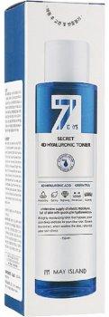 Увлажняющий тонер для лица с гиалуроновой кислотой May Island 7 Days Secret 4D Hyaluronic Toner 155 мл (8809515401218)
