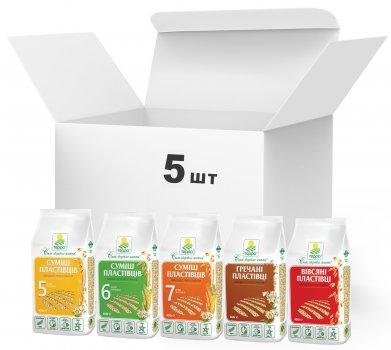 Упаковка пластівців Терра Multi Flakes Mix 400 г х 5 шт. (4820015736932)