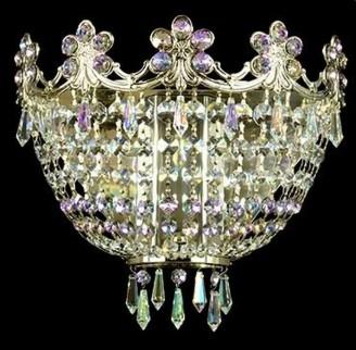 Бра Aldit Corona LL 12/04/274 corona n4 ni vitrail lt.ab crystal