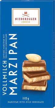 Шоколад Niederegger Марципан 50% в молочном шоколаде 110 г (9004698306001_4000161060147)