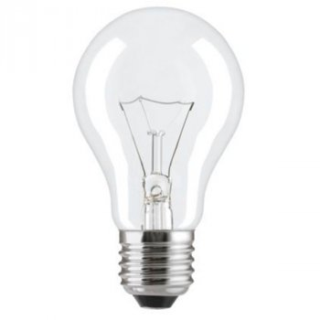 Лампа розжарювання 60А1/CL/E27 240V прозора GE Угорщина
