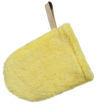 Рукавичка-спонж для снятия макияжа Red Point Mitten Soft Желтая (КР.01.Т.14.57.000)