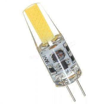 """Лампа світлодіодна G4 COB 3W 300LM 4500K AC 220-240V силікон """"LEMANSO"""" LM3033"""