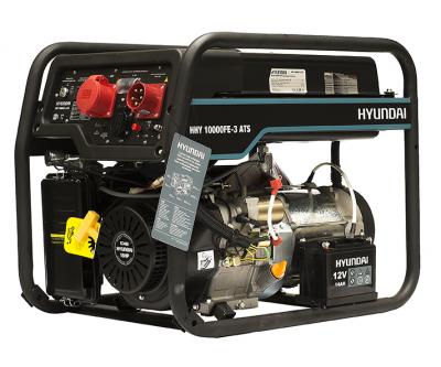 Генератор Hyundai HHY10000FE3-ATS 3-х фазный 8 кВт с автозапуском Бензиновый