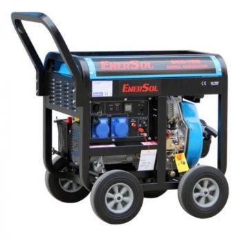 Дизельный однофазный генератор EnerSol с мощностью 6.5 кВА