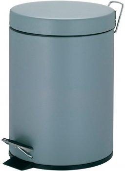 Відро для сміття KELA Phil 5 л (22350) сірий металік