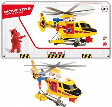 Вертолет Dickie Toys Воздушная полиция с носилками (1137003) (4006333060847)