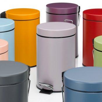 Відро для сміття KELA Monaco 3 л (24293) бузковий металік