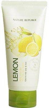 Пилинг-гель для лица с экстрактом лимона Nature Republic Real Nature Lemon Peeling Gel Wash (8806173419586)
