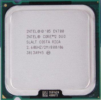 Процессор Intel Core 2 Duo E4700 2.60GHz/2M/800 (SLALT) s775, tray