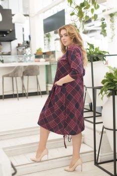Платье ELFBERG 5151 Бордовое