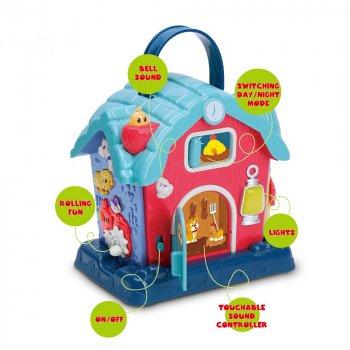 """Дитяча розвиваюча іграшка """"Будиночок"""" 25848E (Blue)"""