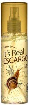Гель-мист для лица Farmstay It'S Real Escargot Gel Mist с улиточным муцином 120 мл (8809469771412)